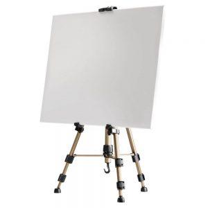 Caballete plegeable tripode Pintura Pino De Tres Patas Regulable en Altura 150 cm Amazinggirl Caballete Pintura ni/ños